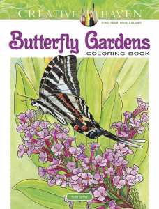Butterfly Gardens Coloring Book