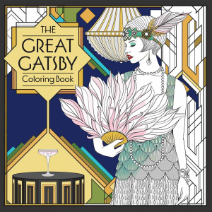 The Great Gatsby Coloring Book