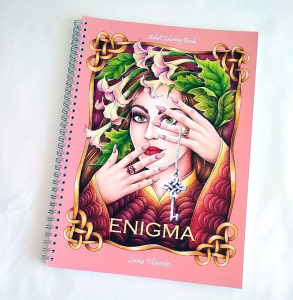 Enigma Adult Coloring Book