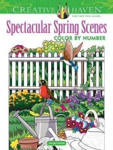 Spectacular Spring Scenes Color by Number
