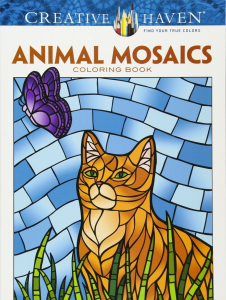 Animals Mosaics Coloring Book
