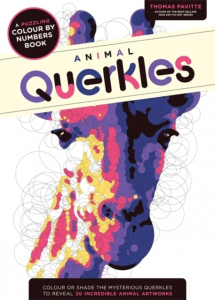Animal Querkles : A puzzling colour-by-numbers book (Kwerkle). Kolorowanka według numerków