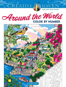 Around the World Color by Number